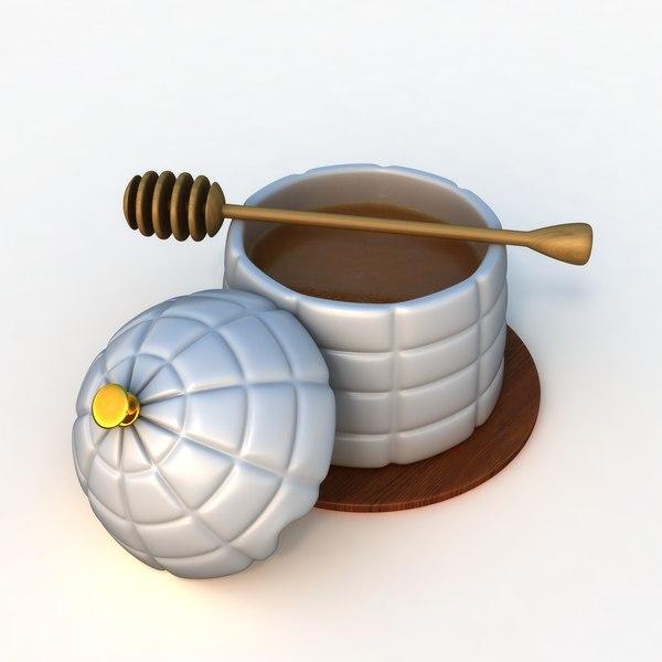 honey pot 3D model