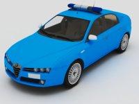 3D alfa romeo model
