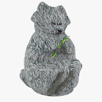 tanuki raccoon dog 3D model