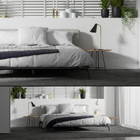 Poliform Park Bed Set A