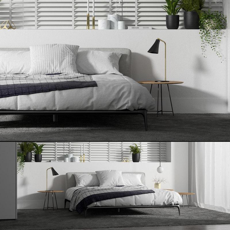 3D poliform park bed set