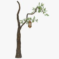 3D tree lantern