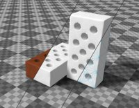 tris 3D model