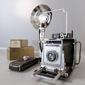 camera busch pressman d 3D model