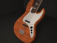 guitars electric 3D
