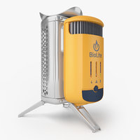 3D model biolite campstove 2 camp
