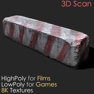3D urban concrete block photogrammetry