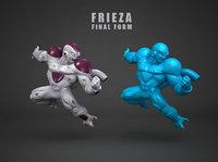 3D frieza figure scanned