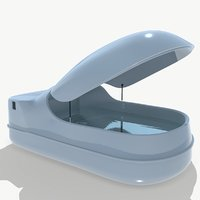 sensory deprivation camera 3D model