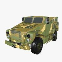 3D model bear vpk-3924