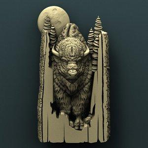 3D bison cnc