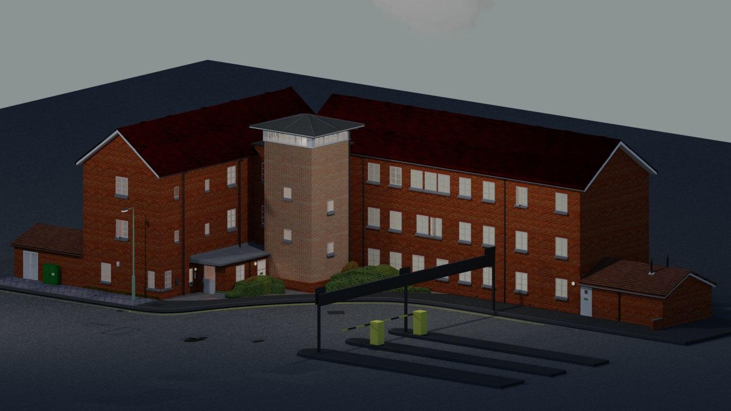 kent house 3D model