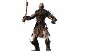 character undead destroyer 3D model