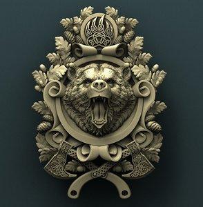 3D bear cnc