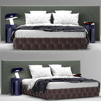 3D meridiani tuyo bed interior