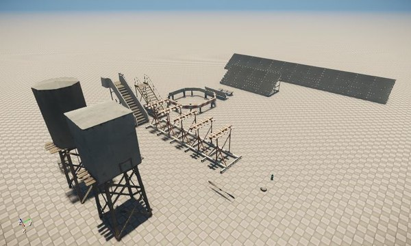 3D airport misc pack 16