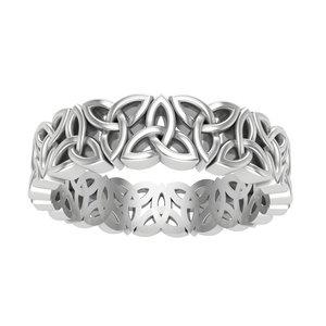 3D ring celtic ornaments