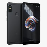 xiaomi redmi note 5 3D model
