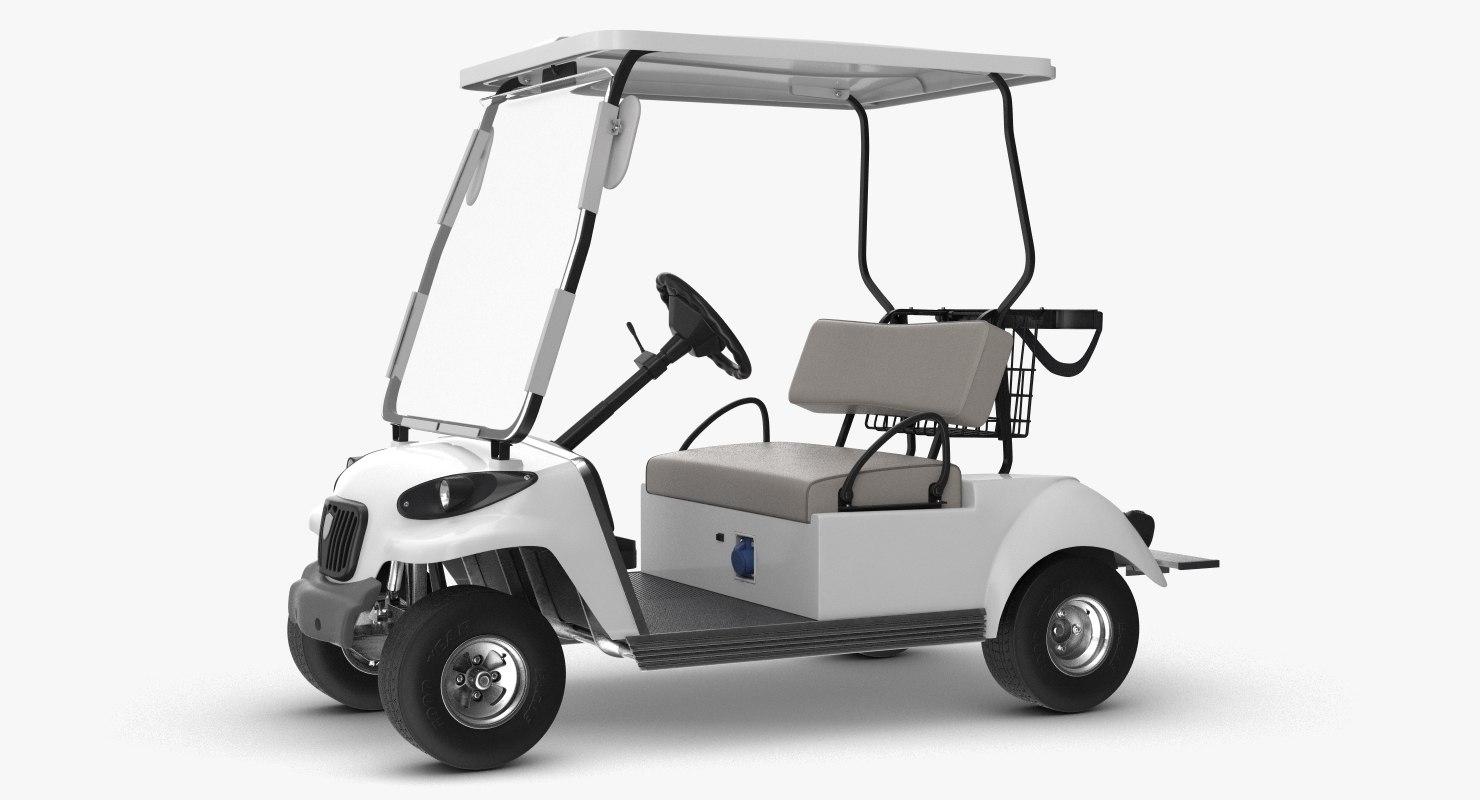 golf car 3D model
