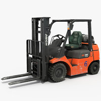 forklift propane gas 3D