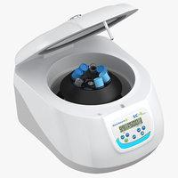 3D centrifuge open model