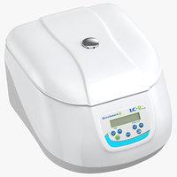 centrifuge closed 3D model