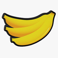 video slot machine banana 3D model