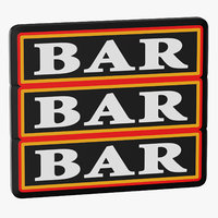 Video Slot Machine Bars