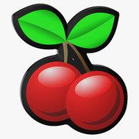 video slot machine cherries 3D
