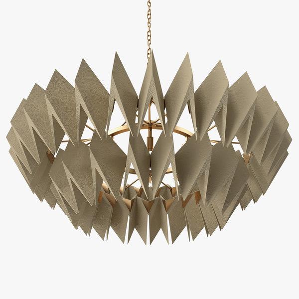 3D axel chandelier -