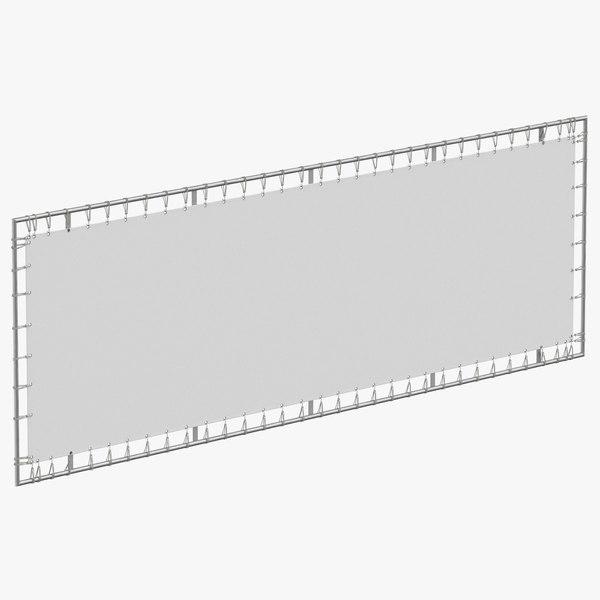 stage banner 03 model