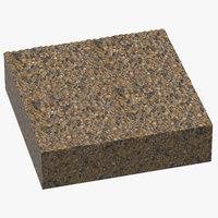 gravel cross sections 01 3D model