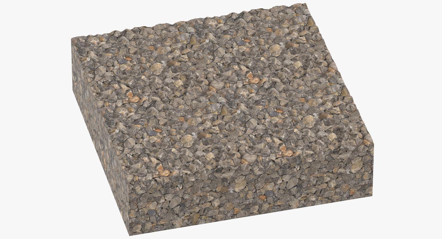 3D gravel cross sections 02