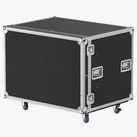 3D model stage flight case 03