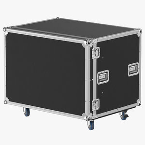 3D model stage flight case 03