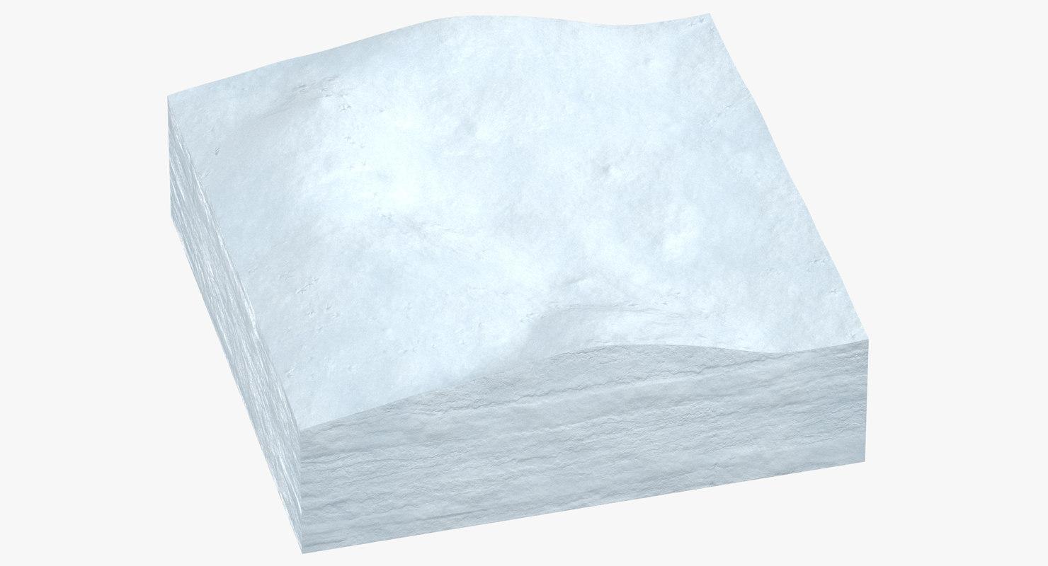 3D snow cross section 01