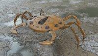 3D robo crab robot model