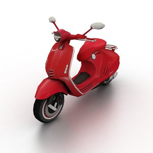 2017 vespa 946 red model