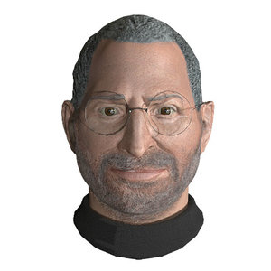 3D model steve jobs animoji