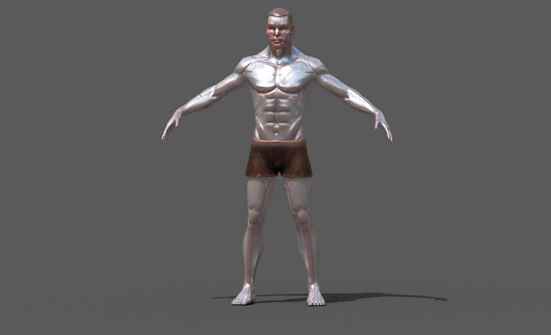 3D male man model