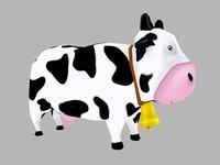 stylized cow model
