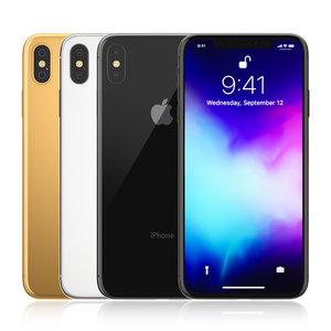 3D apple iphone colors