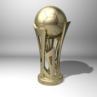 Football soccer Cup 3d print model
