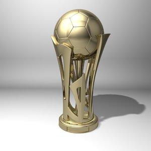 3D football cup model