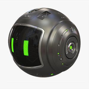 dron 3D model