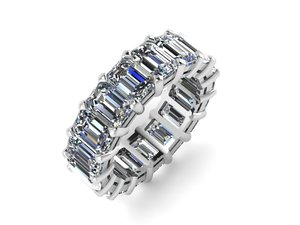 3D model eternity band