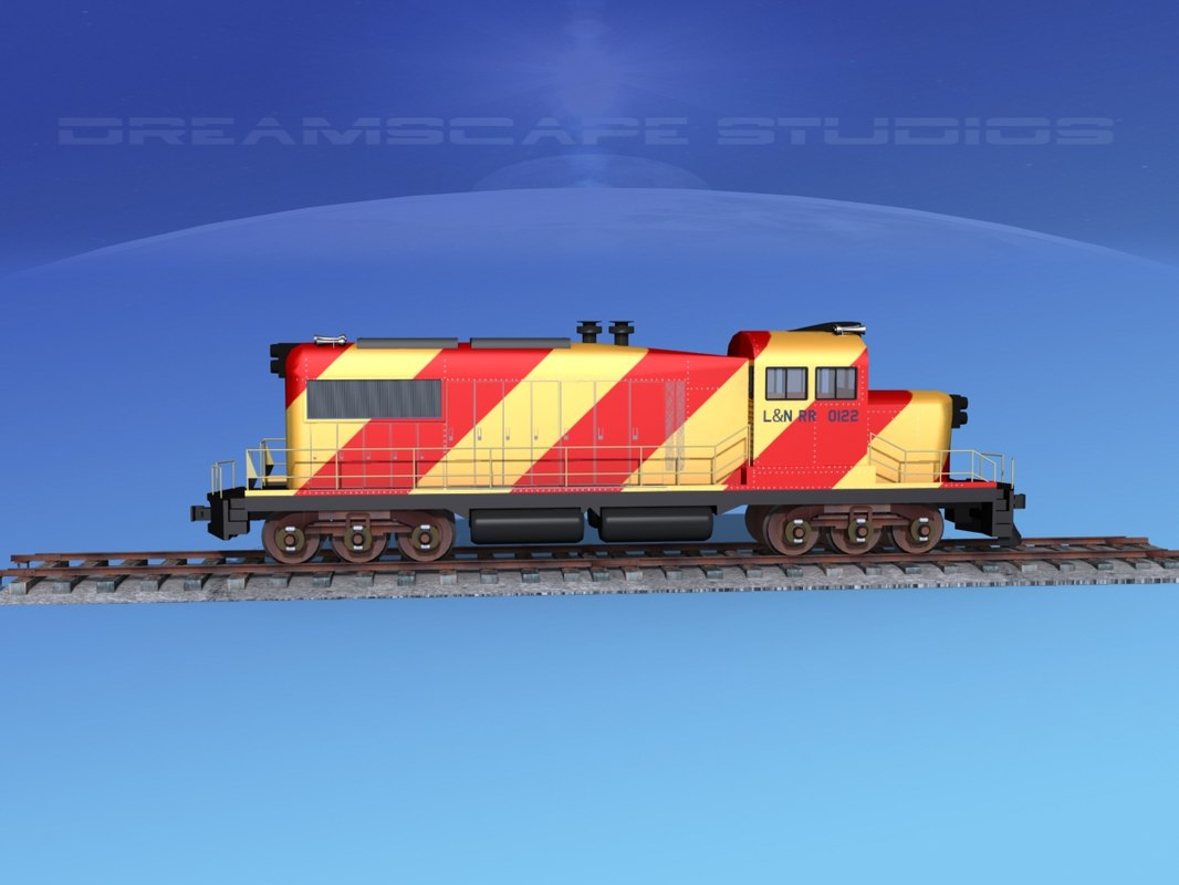 diesel train locomotive model