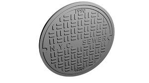 3D n y c sewer model