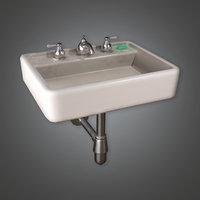 Bathroom Sink 01 (HVM) - PBR Game Ready