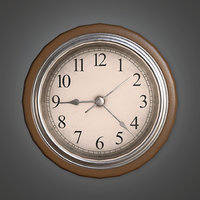 Clock 01 (HVM) - PBR Game Ready